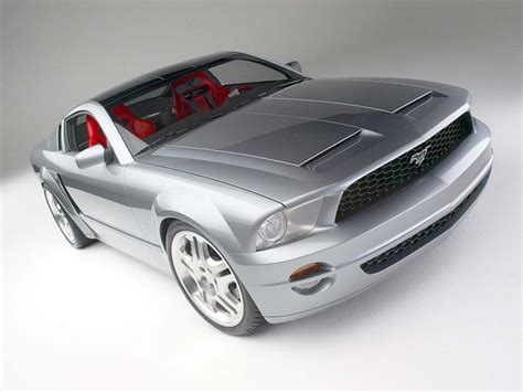 Ford Gt Concepts by 2003 Ford Mustang Gt Coupe Concept Ford Supercars Net