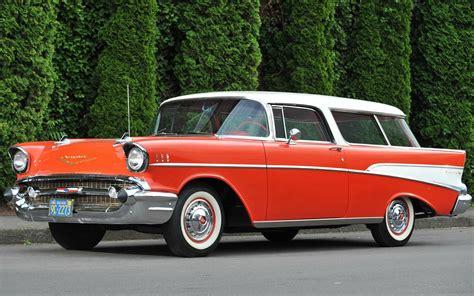1957 Chevy Bel Air Wallpaper by 1957 Chevy Bel Air Orange Hd Chevrolet Bel Air Nomad
