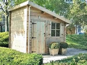Abri De Jardin Monopente : abri de jardin bois jardins ~ Dailycaller-alerts.com Idées de Décoration