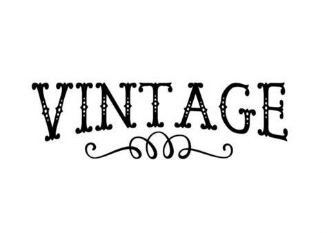 vintage decal diy vintage decal glass lettering wall lettering vintage word decal vintage