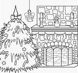 Coloring Fireplace Pole North Xmas Gingerbread Colouring Nativity Scene Scenes Printable Interactive Fireplaces Fresh Catholic Getcolorings Claus Mrs Shrewd sketch template