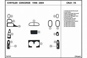 Service Manual  2004 Chrysler Concorde Dash Removal