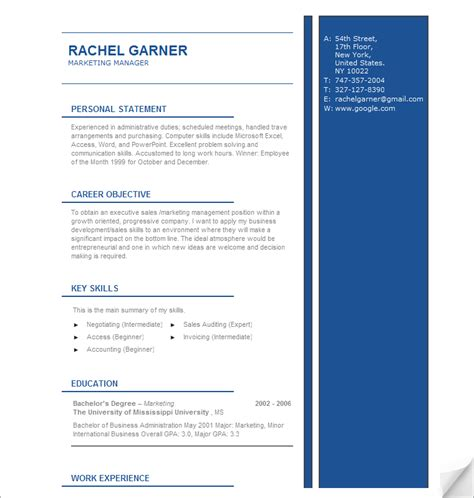 Resume Advice by Free Sle Resume Templates Advice And Career Tools
