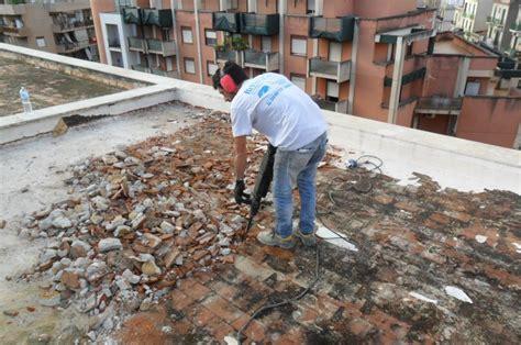 terrazzo condominiale risanamento delle murature umide idee ristrutturazione