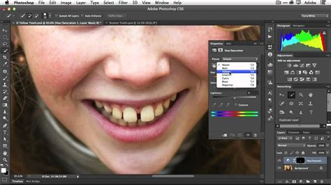 fix teeth  adobe photoshop lensvidcomlensvidcom