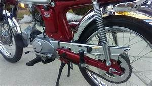 Restored Honda Cl70