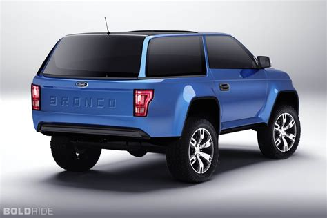 Ford 20192020 Ford Bronco Front View Concept The