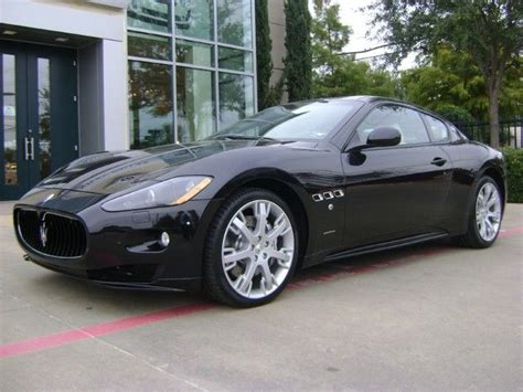 Park Place Maserati by 2012 Maserati Granturismo S Coupe In Nero Carbonio Black