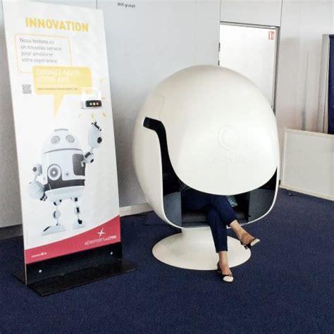 siege bulle lyon exupéry un fauteuil connecté en salle d