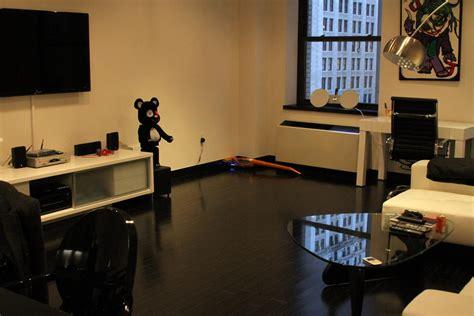decoration bureau york déco appartement noir blanc