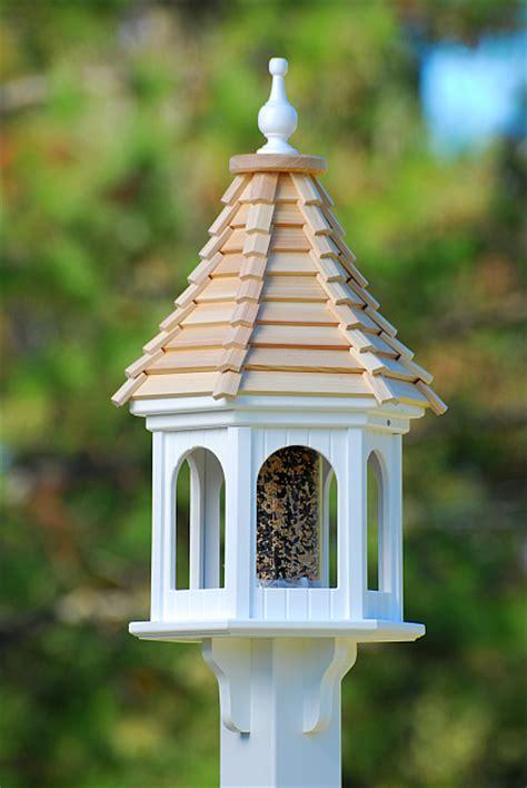 fancy bird feeders fancy home cypress shingle roof 12 inch gazebo bird feeder