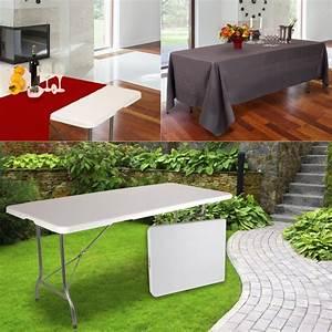 Table Pliante D Appoint : table pliante pas cher jardin camping et r ceptions ~ Melissatoandfro.com Idées de Décoration