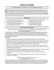 Accounts Payable Resume Template Free by Accounts Payable Processor Sle Resume Booking