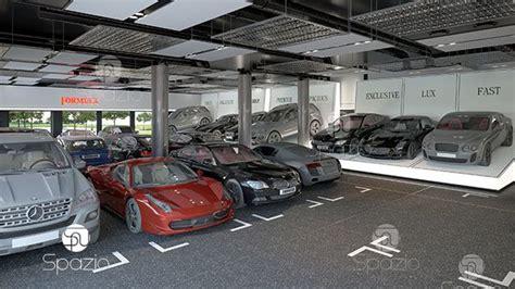 Modern Auto Dealership Interior Design