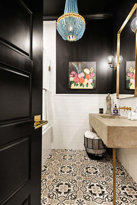 style  bathroom black bathroom color concept