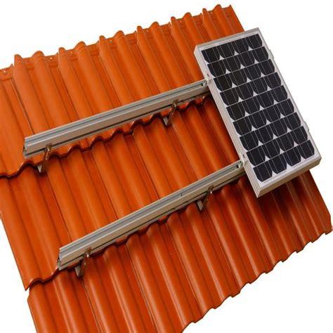 aluminum solar panels mounting brackets hardware