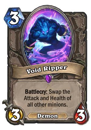 void ripper hearthstone card