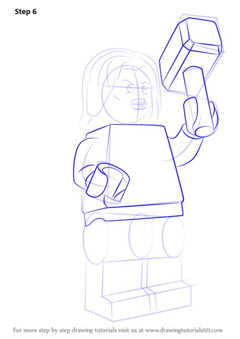 learn   draw lego thor lego step  step drawing
