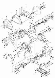 Makita 4131 Parts List