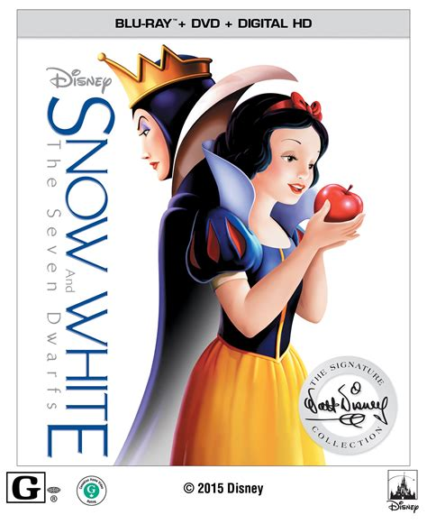 Snow White And The Seven Dwarfs Dvd Release Date