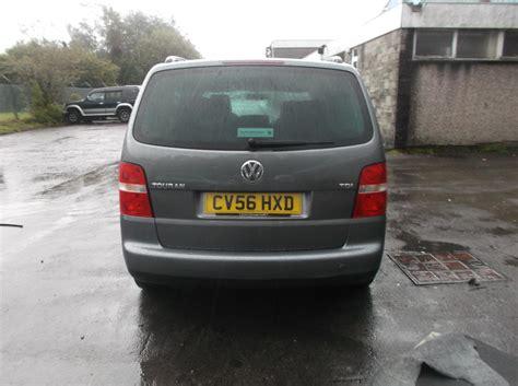 2006 vw touran mk1 left passenger grey front door paint