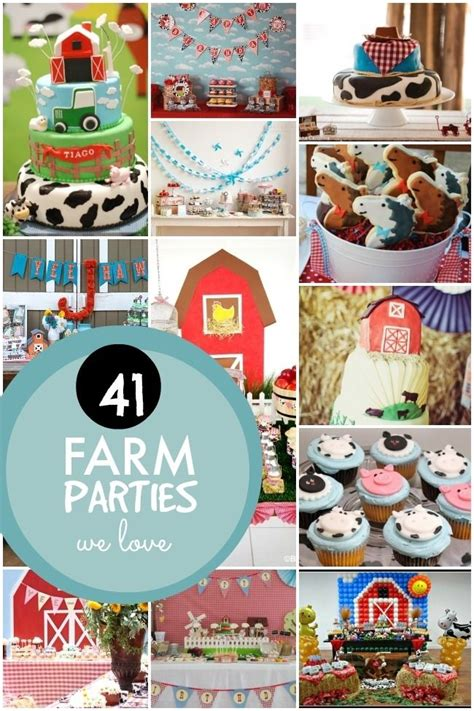 farm themed boy birthday party ideas www