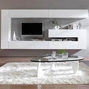 Meuble Design Tv Mural : meuble tv mural design dublin atylia ventes pas ~ Teatrodelosmanantiales.com Idées de Décoration