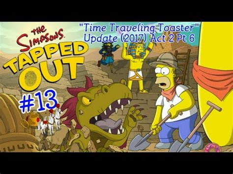 Simpsons Toaster - the simpsons tapped out 174 time traveling toaster