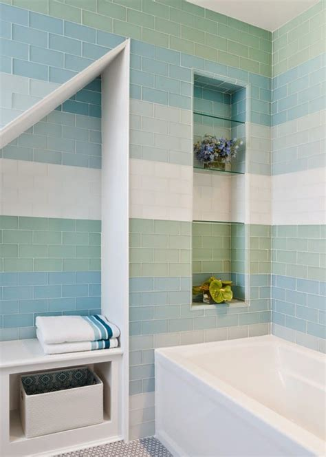 Bathroom Tile Colors by Gorgeous Variations On Laying Subway Tile