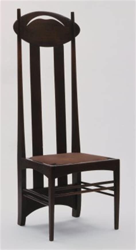 moma charles rennie mackintosh side chair 1897
