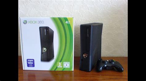 xbox 360 slim 4gb xbox360 unboxing location