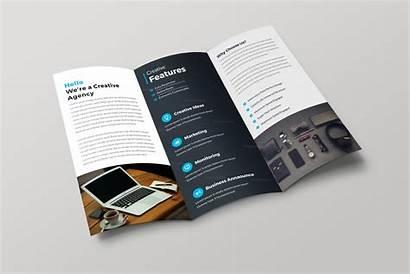 Brochure Fold Tri Professional Template Helsinki Business