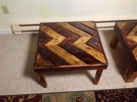 Diy pallet coffee table you can paint or stain. DIY Pallet Coffee Table - End Table | Pallet Furniture Plans
