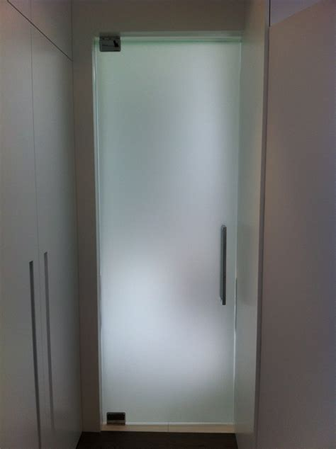Homeofficedecoration  Bathroom Entry Doors With Frosted Glass