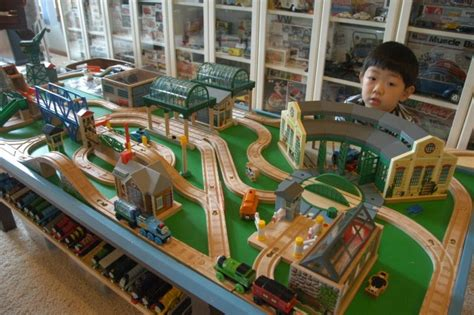 Tidmouth Sheds Wooden Track Layout by Knapford Station Layout For My Layout