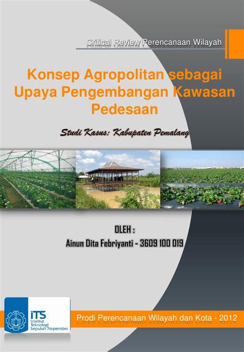 konsep agropolitan