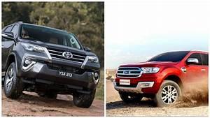 2016 Toyota Fortuner Vs 2016 Ford Endeavour  Comparison Report