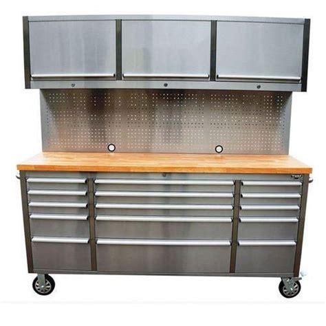 silver workbench cabinet trolley rs  piece vedika