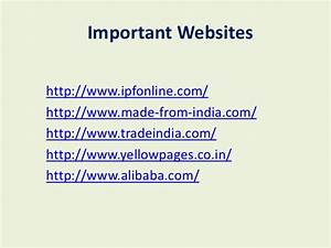 Import export business plan in india