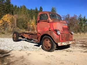 dodge trucks idaho 1946 chevrolet chevy coe cabover truck cab and chassis 1941 1942 gmc ford dodge for sale photos