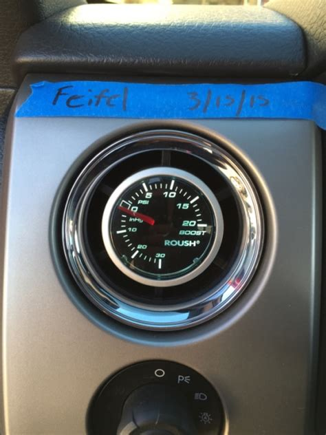south central fs roush boost gauge  vent pod ford