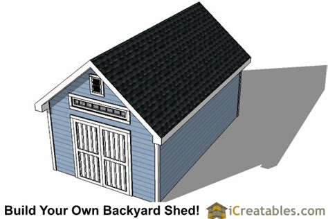 12x20 Storage Shed Material List by 12x20 Traditional Backyard Shed Plans