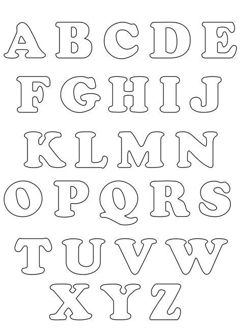 abecedario para colorear