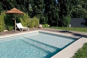 photo piscines desjoyaux deco photo decofr With piscine avec liner gris