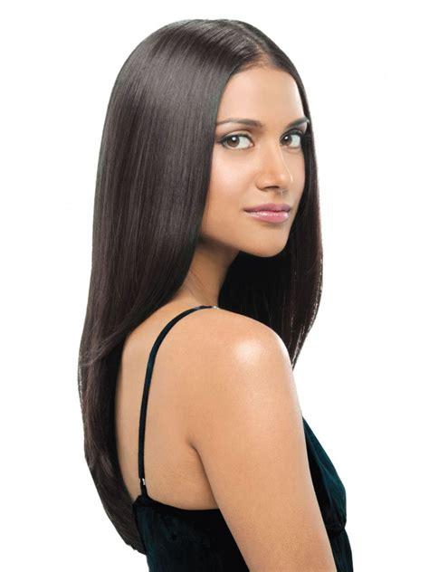 straight clip  hair extensions  hairdo