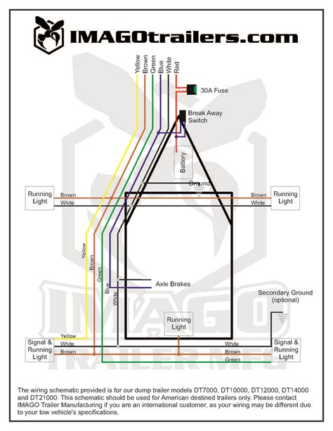 HD wallpapers wiring diagram for a trailer