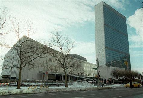 siege des nations unies douze bâtiments emblématiques de l 39 architecte oscar niemeyer