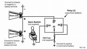 Dual Horn Installation  Wiring Question   Svriders