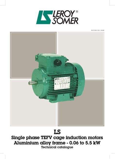 leroy somer motor wiring diagram single phase circuit