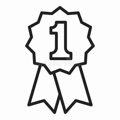Winner Badge Place Achievement Icon Award 1st